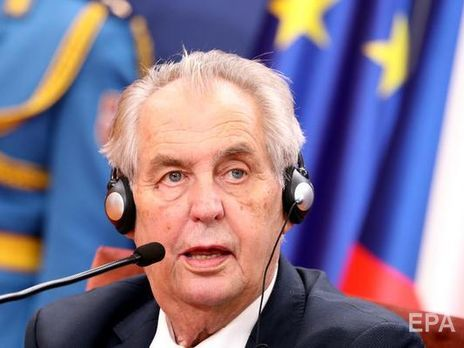 Milos Zeman, President of the Czech Republic