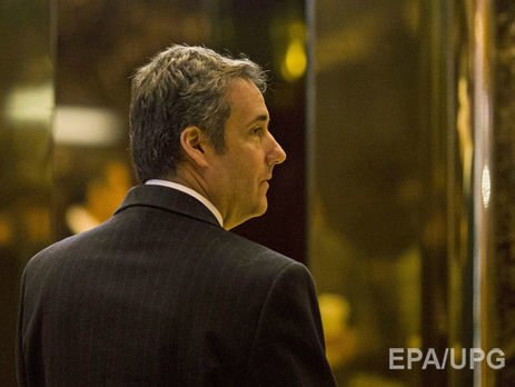 Michael Cohen in Trump Tower in Manhattan on January 12, 2017