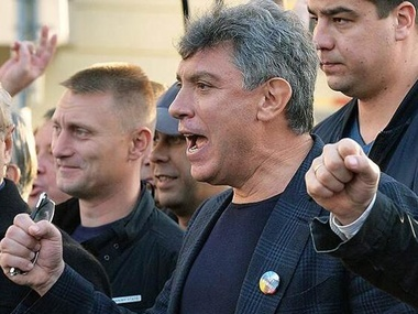 Nemtsov considers Putin to be inadequate, but leaves hope for agreement with him