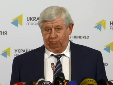 Viktor Shokin: I will not tell you the official who will be arrested next