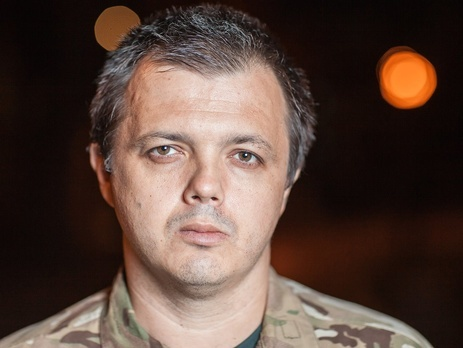 Semenchenko: The special status in Donbass is only required in the field of military or law enforcement activities